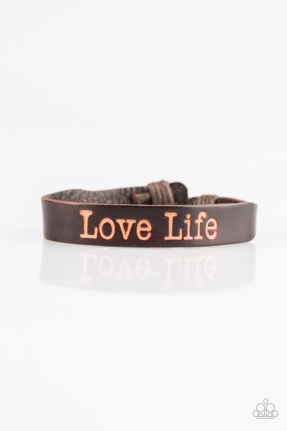 Paparazzi Accessories The GOOD Life - Brown Urban Bracelet - Be Adored Jewelry