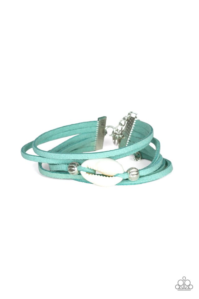 Paparazzi Vitamin SEA - Blue Urban Bracelet - Be Adored Jewelry
