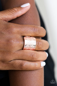 Paparazzi Accessories Wild Meadows - Rose Gold Ring - Be Adored Jewelry