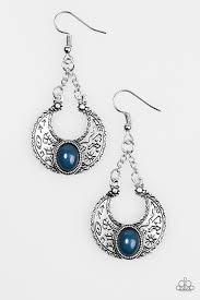 Be Adored Jewelry Anasazi Sands Blue Paparazzi Earring