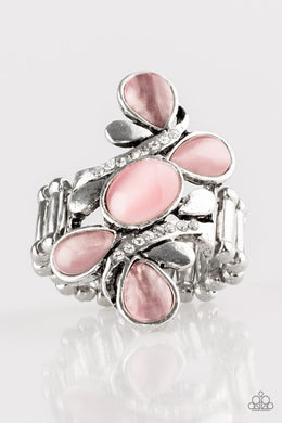 Paparazzi Bliss Out - Pink Ring - Be Adored Jewelry