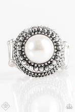 Load image into Gallery viewer, Paparazzi Bronx Beauty - White Ring - Be Adored Jewelry