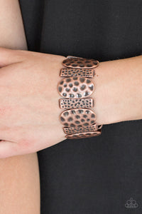 Paparazzi Cave Cache - Copper Bracelet - Be Adored Jewelry