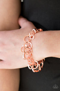 Paparazzi Circus Cabaret Copper Bracelet - Be Adored Jewelry