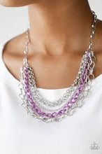 Load image into Gallery viewer, Color Bomb - Paparazzi Purple Necklace - Be Adored Jewelry