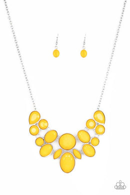 Be Adored Jewelry Demi-Diva Yellow Paparazzi Necklace