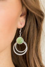 Load image into Gallery viewer, Paparazzi Dreamily Dreamland - Green Earring - Be Adored Jewelry