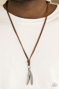 Paparazzi Eagerly Eagle - Brown Necklace - Be Adored Jewelry