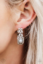 Load image into Gallery viewer, Paparazzi Exquisite Expense - Silver Earring - Be Adored Jewelry