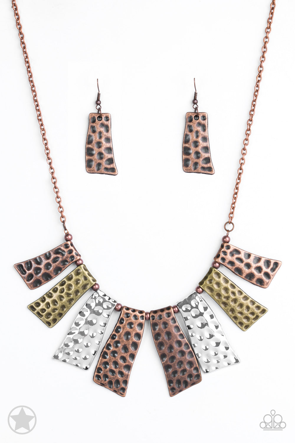 Fan of the Tribe - Paparazzi Multi Necklace - Be Adored Jewelry