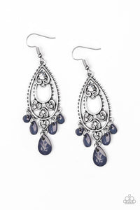 Fashion Flirt - Paparazzi Blue Earring - Be Adored Jewelry