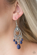 Load image into Gallery viewer, Fashion Flirt - Paparazzi Blue Earring - Be Adored Jewelry
