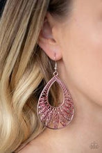 Load image into Gallery viewer, Flamingo Flamenco - Paparazzi Red Earring - Be Adored Jewelry