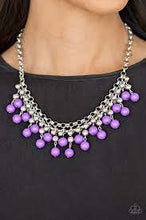 Load image into Gallery viewer, Be Adored Jewelry Friday Night Fringe Paparazzi Purple Necklace