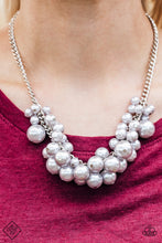Load image into Gallery viewer, Glam Queen - Paparazzi Silver Necklace - Be Adored Jewelry