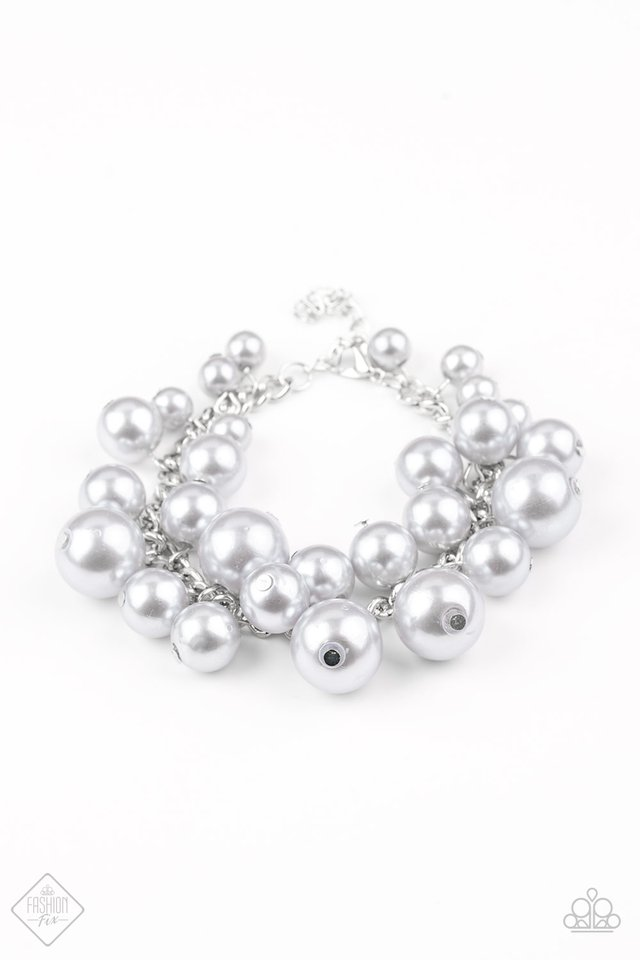 Glam The Expense - Paparazzi Silver Bracelet - Be Adored Jewelry