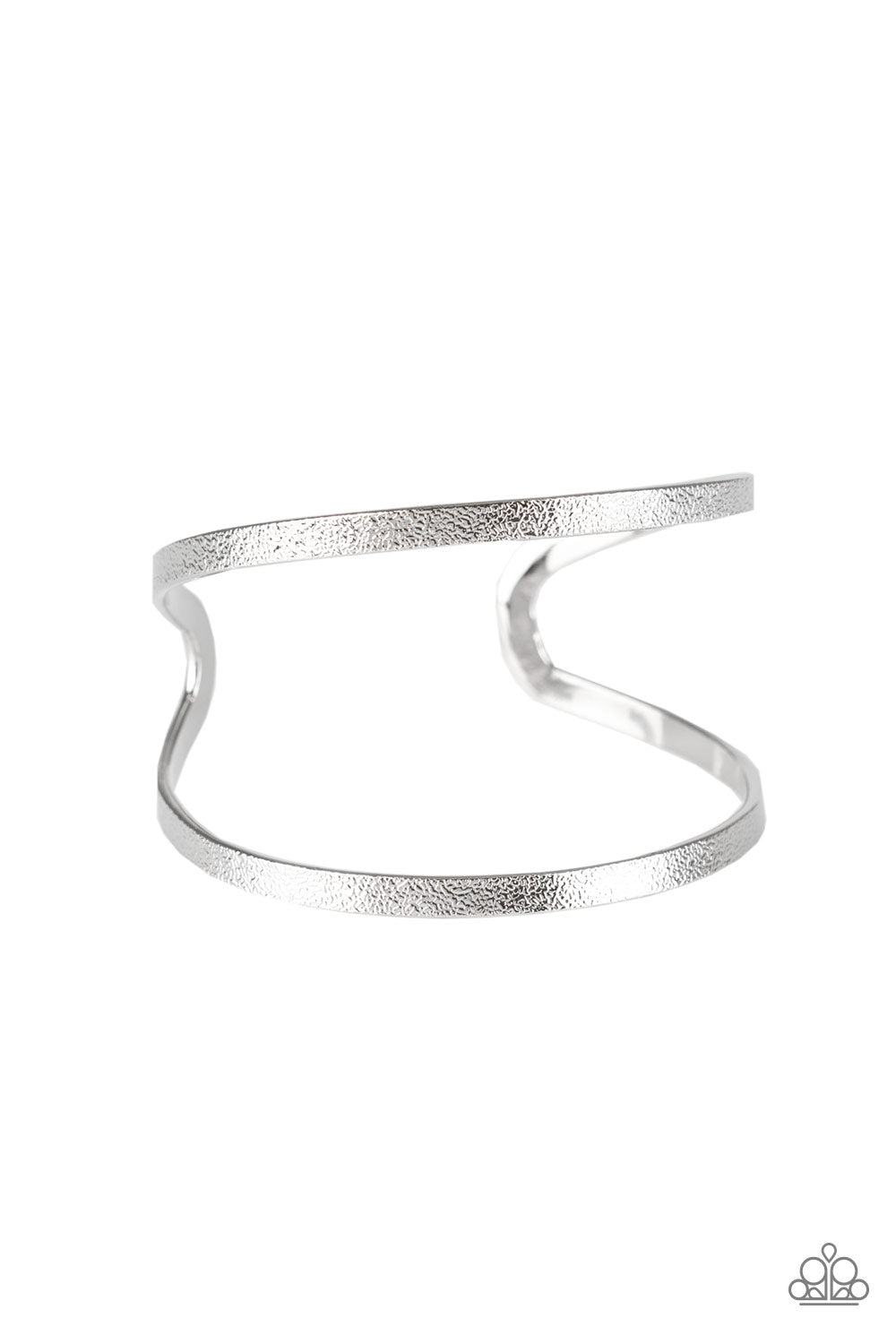 Grenada Goddess - Paparazzi Silver Cuff Bracelet - Be Adored Jewelry