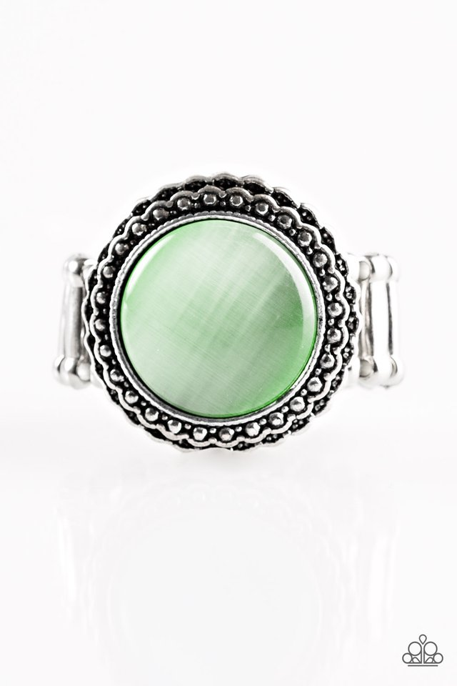 Paparazzi Accessories Jewel Pool - Green Ring - Be Adored Jewelry