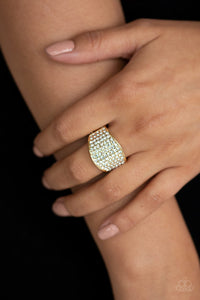 Paparazzi Kaboom! - Gold Ring - Be Adored Jewelry