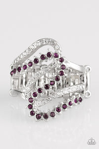 Paparazzi Accessories Making Waves - Purple Ring - Be Adored Jewelry