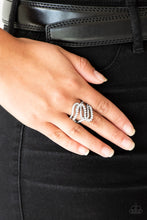 Load image into Gallery viewer, Paparazzi Accessories Making Waves - White Ring - Be Adored Jewelry