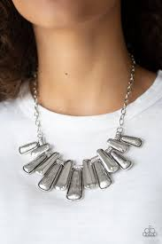 MANE Up - Paparazzi Silver Necklace - Be Adored Jewelry