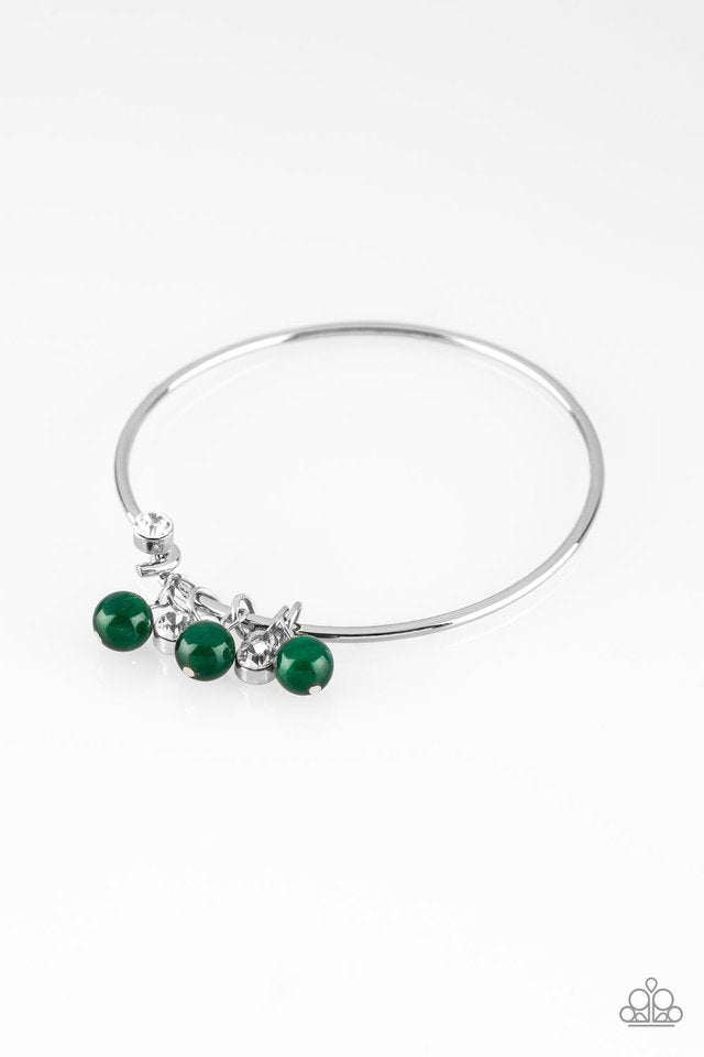 Paparazzi Marine Melody - Green Bracelet - Be Adored Jewelry