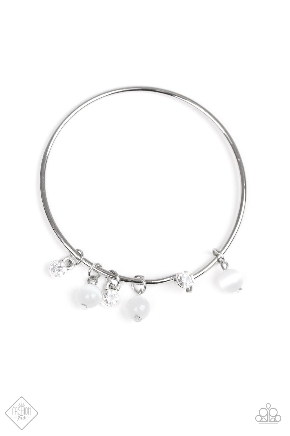 Paparazzi Marine Melody - White Bracelet - Be Adored Jewelry