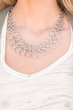 Load image into Gallery viewer, Metro Maven - Paparazzi Silver Necklace - Be Adored Jewelry