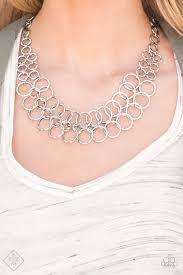 Metro Maven - Paparazzi Silver Necklace - Be Adored Jewelry