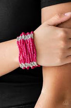 Load image into Gallery viewer, Paparazzi Outback Odyssey - Pink Bracelet - Be Adored Jewelry