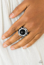 Load image into Gallery viewer, Paparazzi Accessories Pampered In Pearls- Black Ring - Be Adored Jewelry