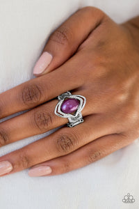 Paparazzi Accessories Positively Posh - Purple Ring - Be Adored Jewelry