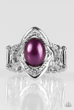 Load image into Gallery viewer, Paparazzi Accessories Positively Posh - Purple Ring - Be Adored Jewelry