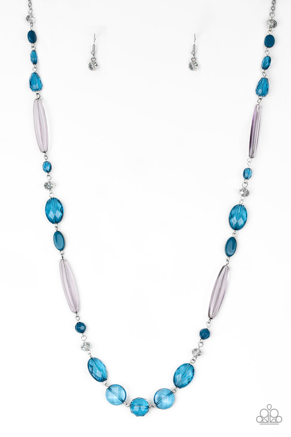 Paparazzi Accessories Quite Quintessence - Blue Necklace - Be Adored Jewelry