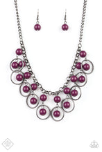 Load image into Gallery viewer, Paparazzi Accessories Really Rococo - Purple Necklace Glimpse of Malibu Fashion Fix - Be Adored Jewelry