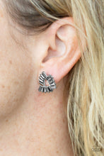 Load image into Gallery viewer, Paparazzi Accessories Renegade Shimmer - Silver Earring - Be Adored Jewelry