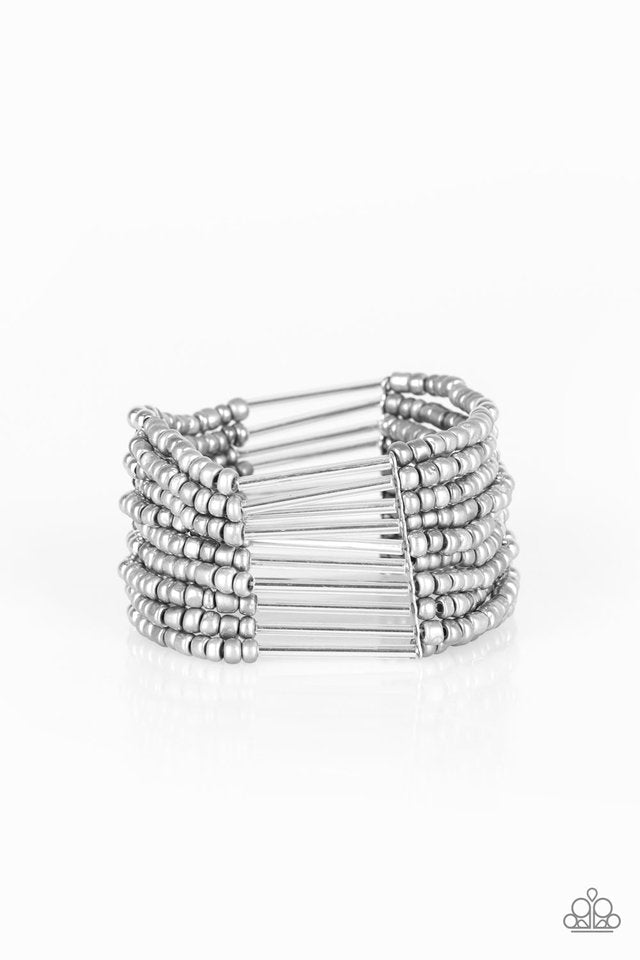 Paparazzi Accessories Rural Retreat - Silver Bracelet - Be Adored Jewelry