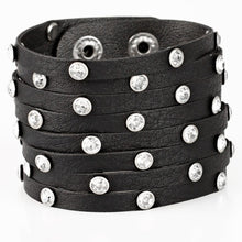 Load image into Gallery viewer, Paparazzi Accessories Sass Squad - Black Bracelet - Be Adored Jewelry