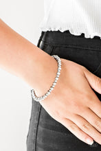Load image into Gallery viewer, Paparazzi Accessories Seven Figure Fabulous - Black Bangle Bracelet - Be Adored Jewelry