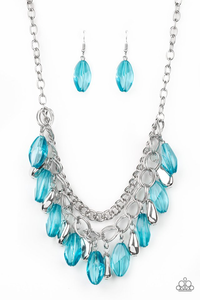 Paparazzi Accessories Spring Daydream - Blue Necklace - Be Adored Jewelry