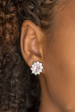 Load image into Gallery viewer, Paparazzi Accessories Starry Nights - Pink Post Earring - Be Adored Jewelry