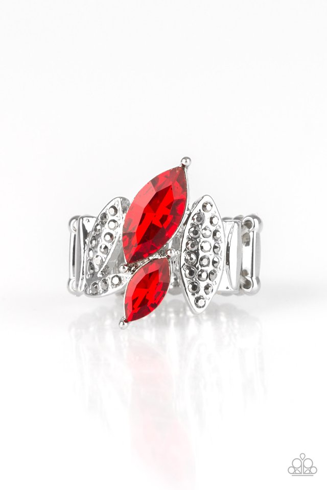 Paparazzi Stay Sassy - Red Ring - Be Adored Jewelry