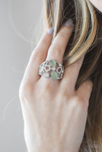 Load image into Gallery viewer, Paparazzi Accessories Summer Yacht - Green Ring - Be Adored Jewelry