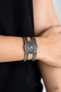 Paparazzi Accessories Texture Trade - Silver Cuff Bracelet - Be Adored Jewelry