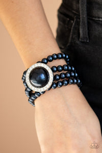 Be Adored Jewelry Top Tier Twinkle Blue Paparazzi Bracelet