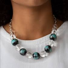 Load image into Gallery viewer, Torrid Tide - Paparazzi Blue Necklace - Be Adored Jewelry