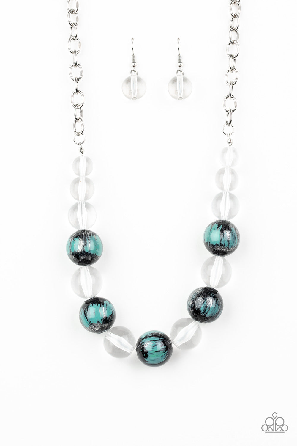 Torrid Tide - Paparazzi Blue Necklace - Be Adored Jewelry