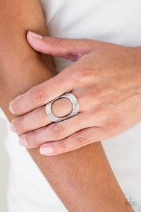 Paparazzi Tour De Contour - Silver Ring - Be Adored Jewelry