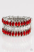 Load image into Gallery viewer, Paparazzi Accessories Treasury Fund - Red Ring - Be Adored Jewelry